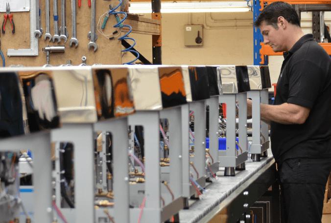 Fracino, Sage 200 user manufacturing coffee machines